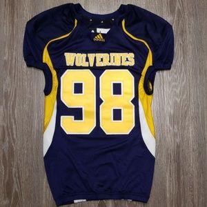 adidas Wolverines football Jersey #98